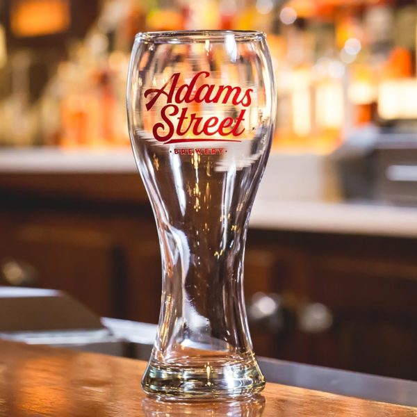 Adams Street Brewery Weiss Glass available to purchase.