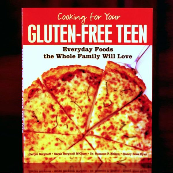 Cookbook available to purchase: Cooking for Your Gluten-Free Teen: Everyday Foods the Whole Family Will Love.